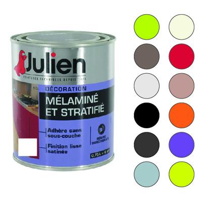 Peinture Mélaminé Et Stratifié Julien 0,75 Litre