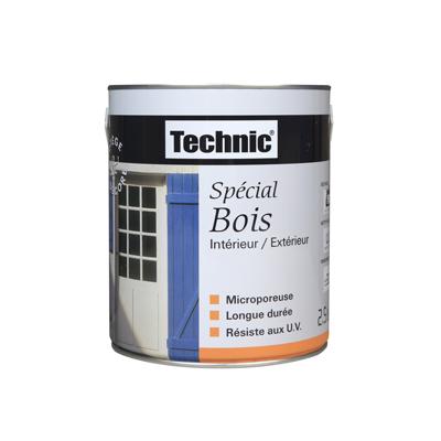 peinture bois microporeuse technic