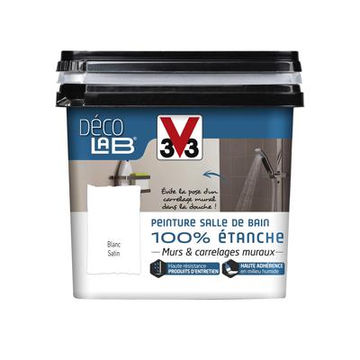 Peinture 100% étanche salle de bain V33 0,75L - Sèni Color