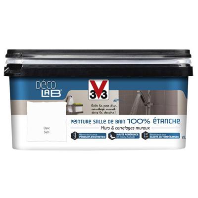 Peinture 100% étanche salle de bain V33 2L - Sèni Color